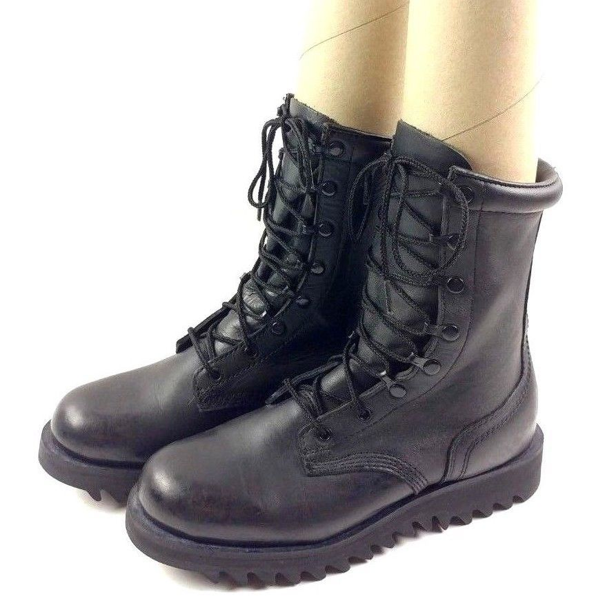 7b6c64b6b37 Altama Mens Military Jungle Boots 7877 Ripple Sole Black Lace Up ...