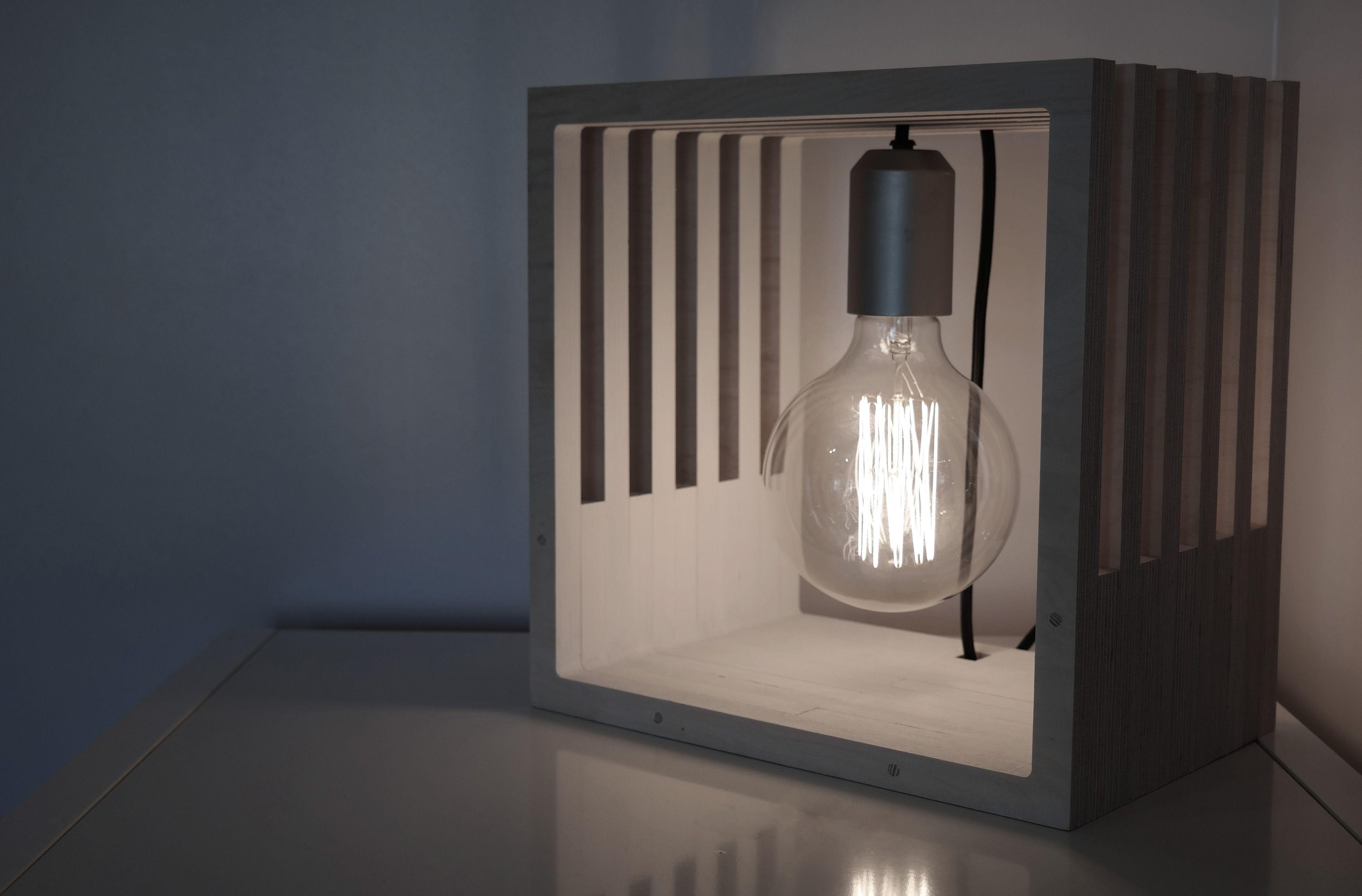 CNC cut lamp