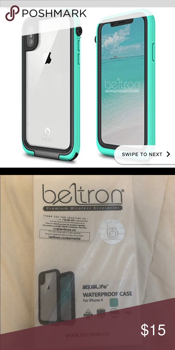 various colors 2b301 11543 Beltron waterproof iPhone X case Beltron waterproof iPhone X case ...
