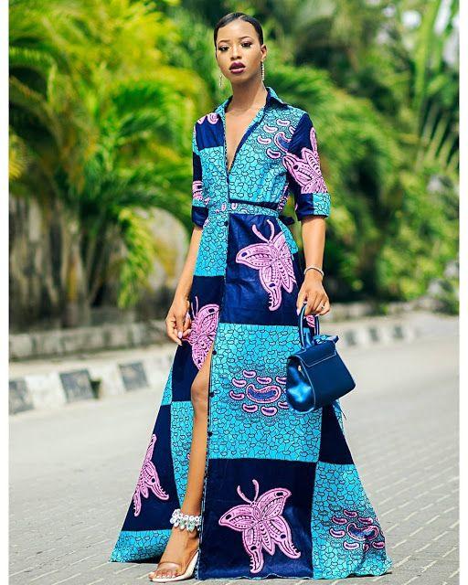 African print fashion 2018 88