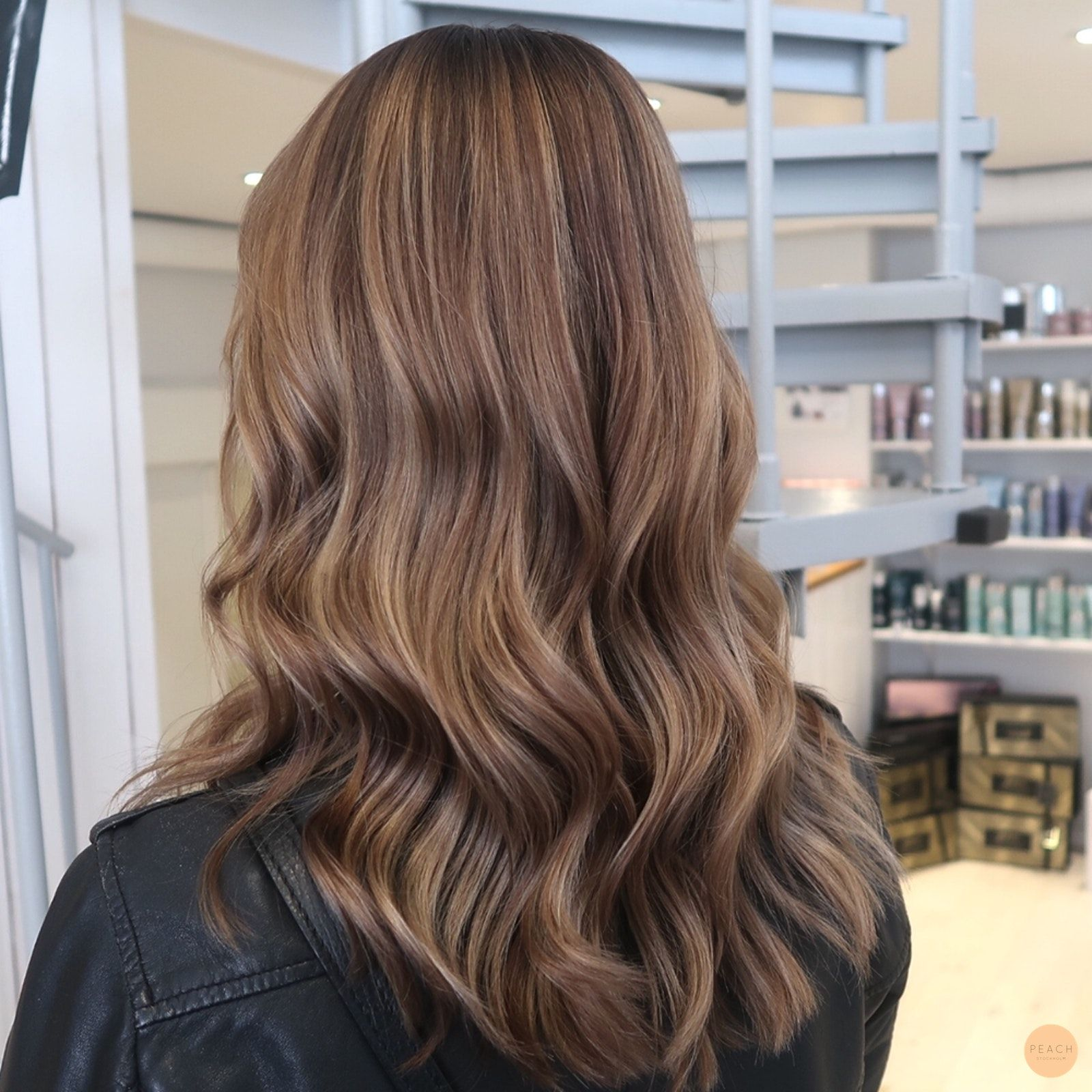 snygga bruna hårfärger