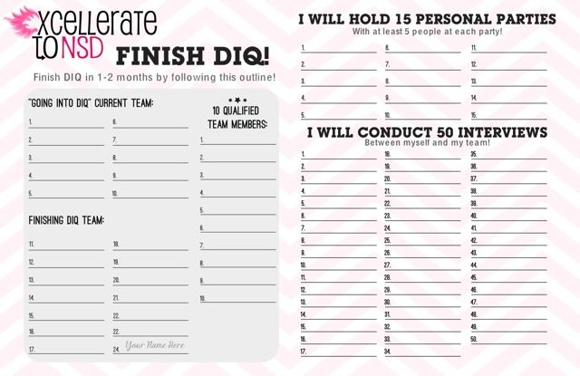 Diq Mary Kay Goal Sheets Grand Achiever Reward Options Mark Kay - fresh blueprint consulting and training