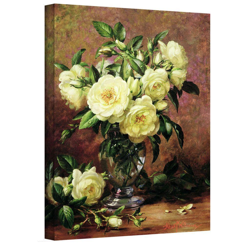 ArtWall Art Wall Albert Williams \' Roses A Gift from the Heart ...