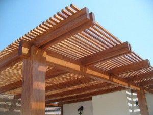 11 Tejabanes de madera