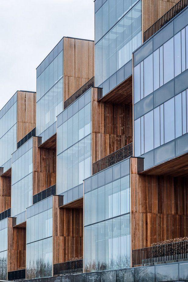 Modern Architecture Office Buildings zespół budynków biurowych pixel w poznaniu house housing villa
