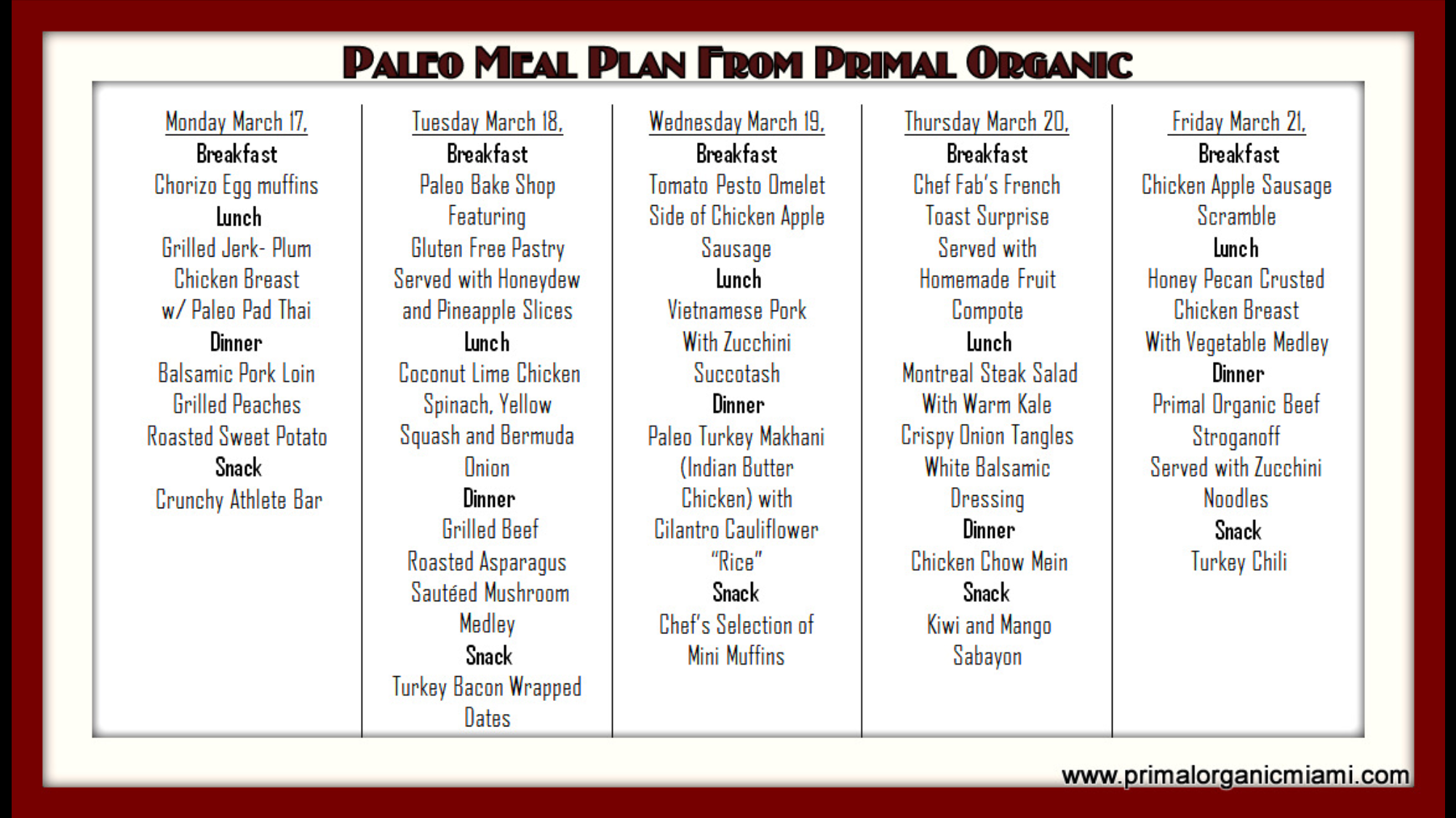 paleo diet for athletes meal plan pdf