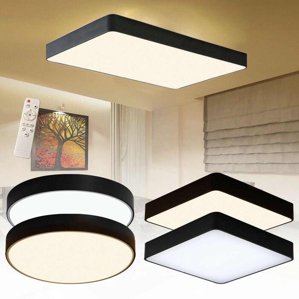 Acryl Led Deckenlampe Dimmbar Deckenleuchte Wohnzimmer Lampe Mit Fernbedienung In 2020 Office Furniture Set Office Furniture Design Ikea Office Furniture