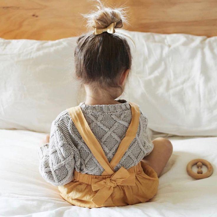 Photo of Simple Green Linen Girls Dress, Linen Girl Dress, Girls Soft Linen Dress, Kindergarten dress, linen dress child