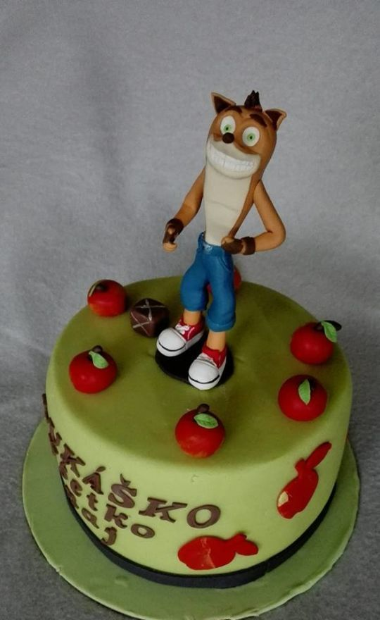 Crash Bandicoot Dad Party Pinterest Crash Bandicoot And Cake