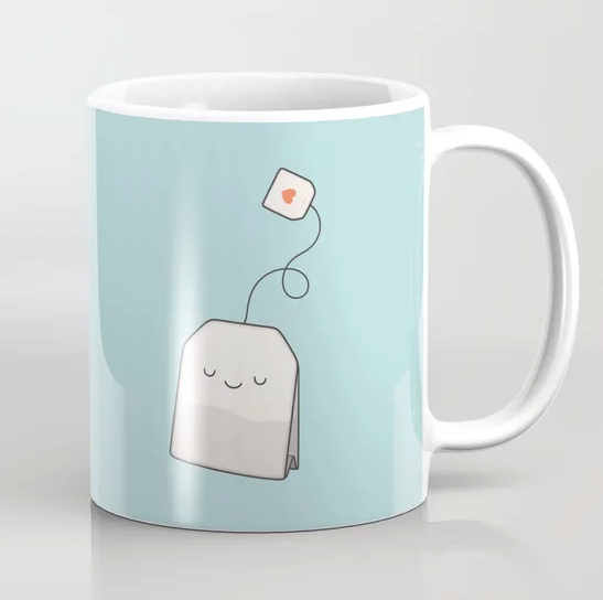 """Tea time"" Coffee Mug by kim vervuurt on Society6 
