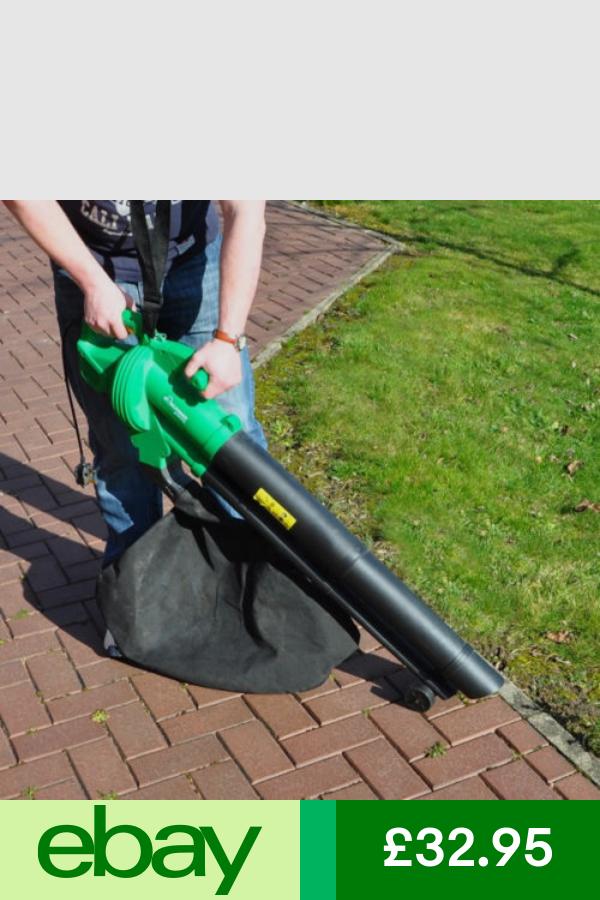 Greenworks Leaf Blowers Vacuums Garden Patio Ebay Garden Mulcher Electric Leaf Blowers Leaf Blower