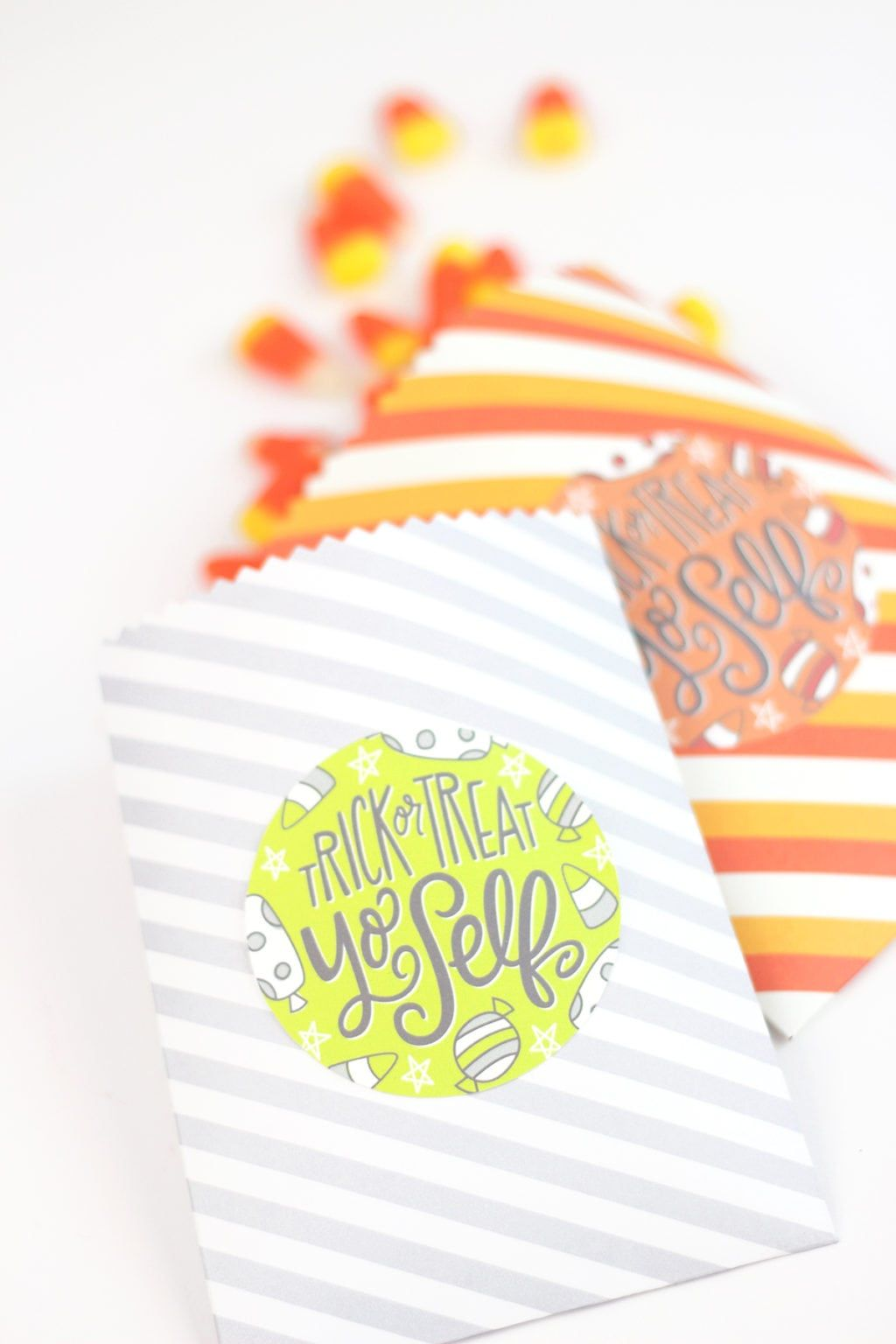 Easy Make Your Own Treatbags Printables