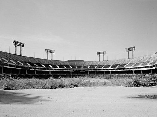 Baltimore Memorial Stadium - This is how it looked in the year, 2000.