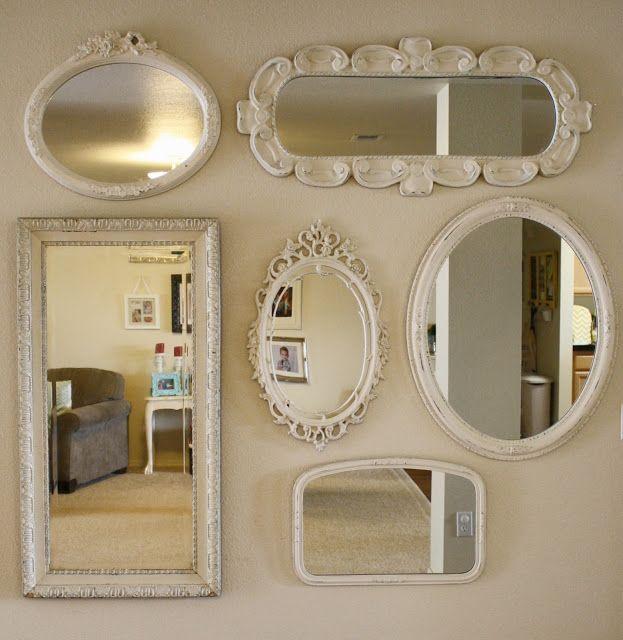 Pretty Summer Wreaths Mirror Ideasdiy Mirrorwall