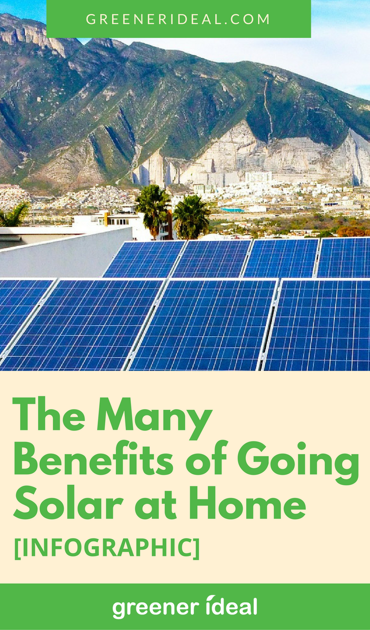 The Many Benefits of Going Solar at Home [Infographic