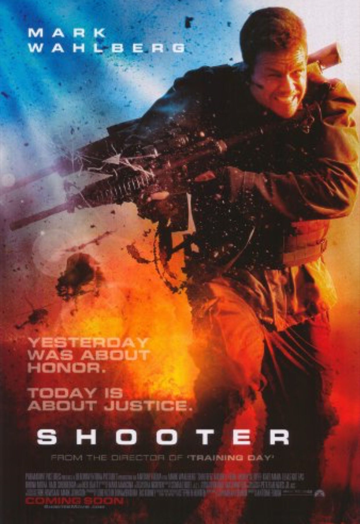 Shooter With Images Movie Posters Action Movies Action
