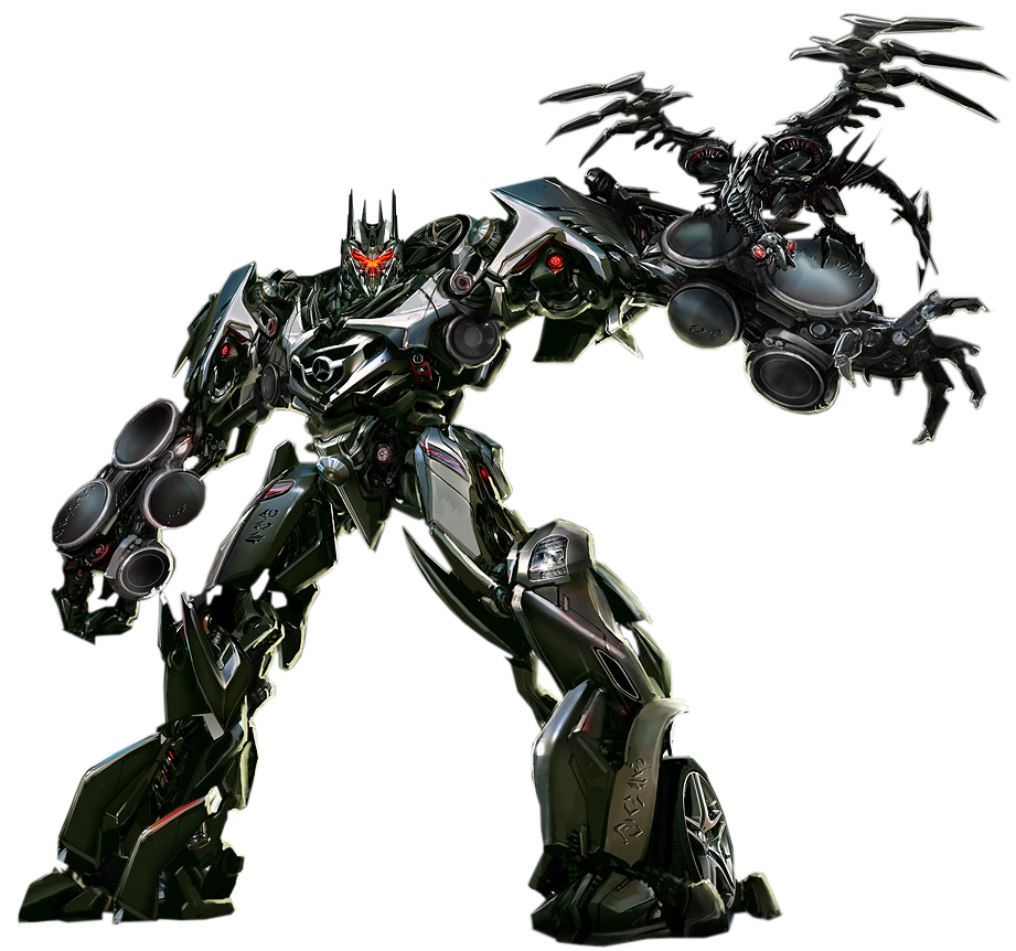 Concept Art Of The Decepticon Soundwave From Dark Of The