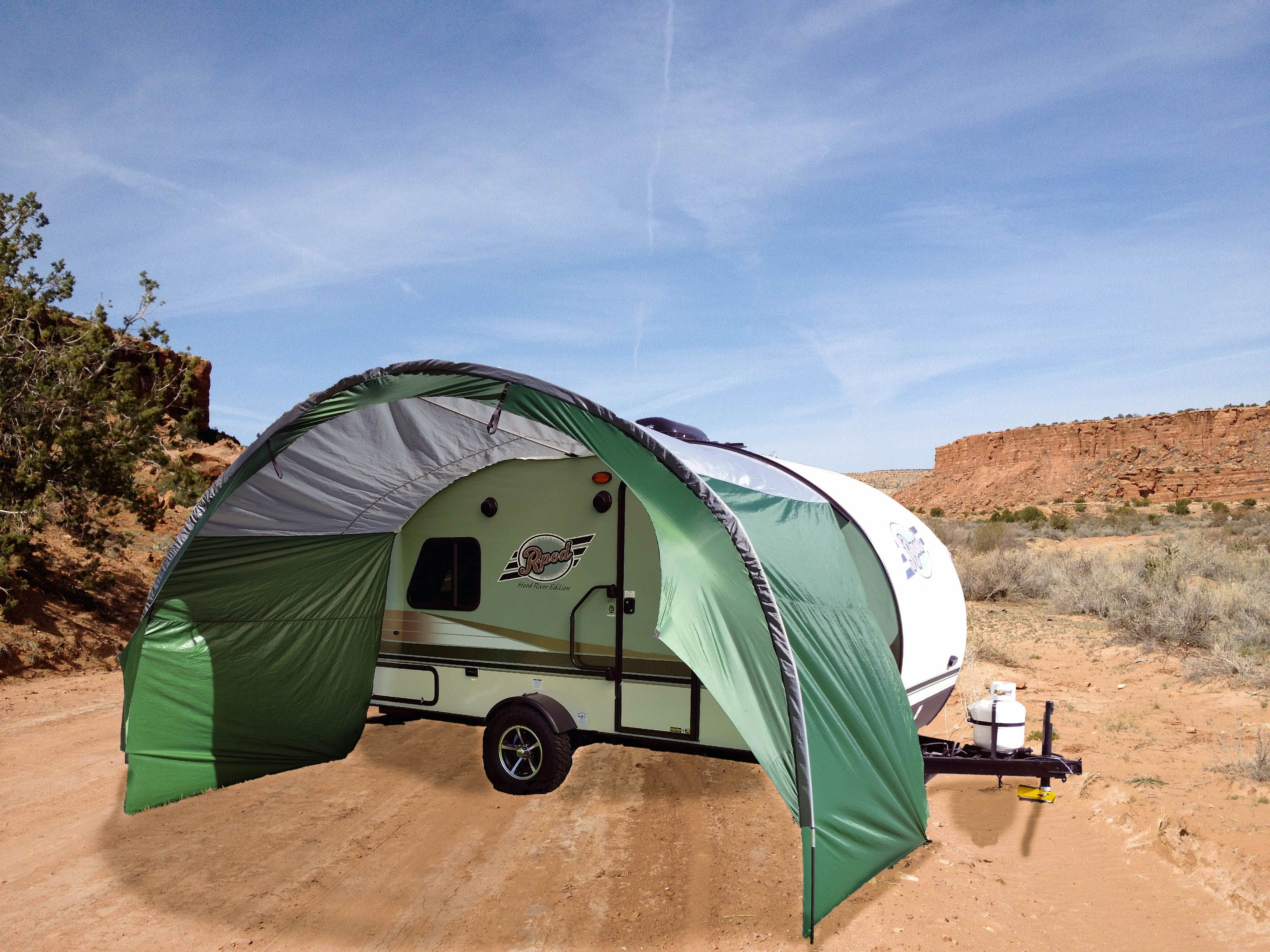 R Pod Trailer Awning By Pahaque R Pod Pod Camper Trailer Awning
