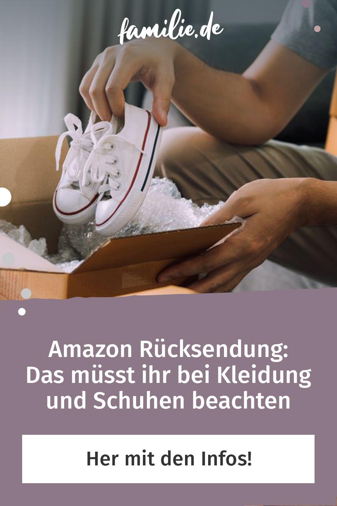 Amazon Rucksendung Das Musst Ihr Bei Kleidung Beachten Familie De Kleidung Familienleben Schuhe