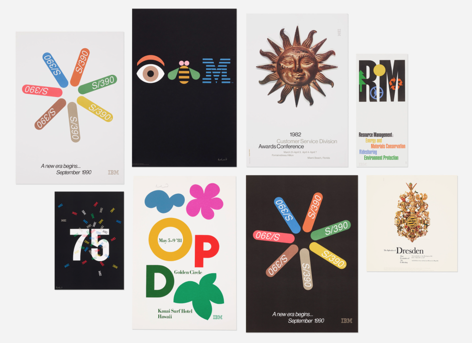 An Incredible Trove From Design Legend Paul Rand S Estate Is Up For Auction Paul Rand Graphic Design School Logo Presentation