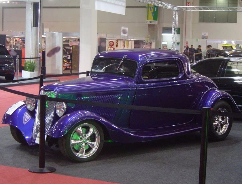 ford 1933 coupe motor v8 350 tiptronic hot rod zztop 1934