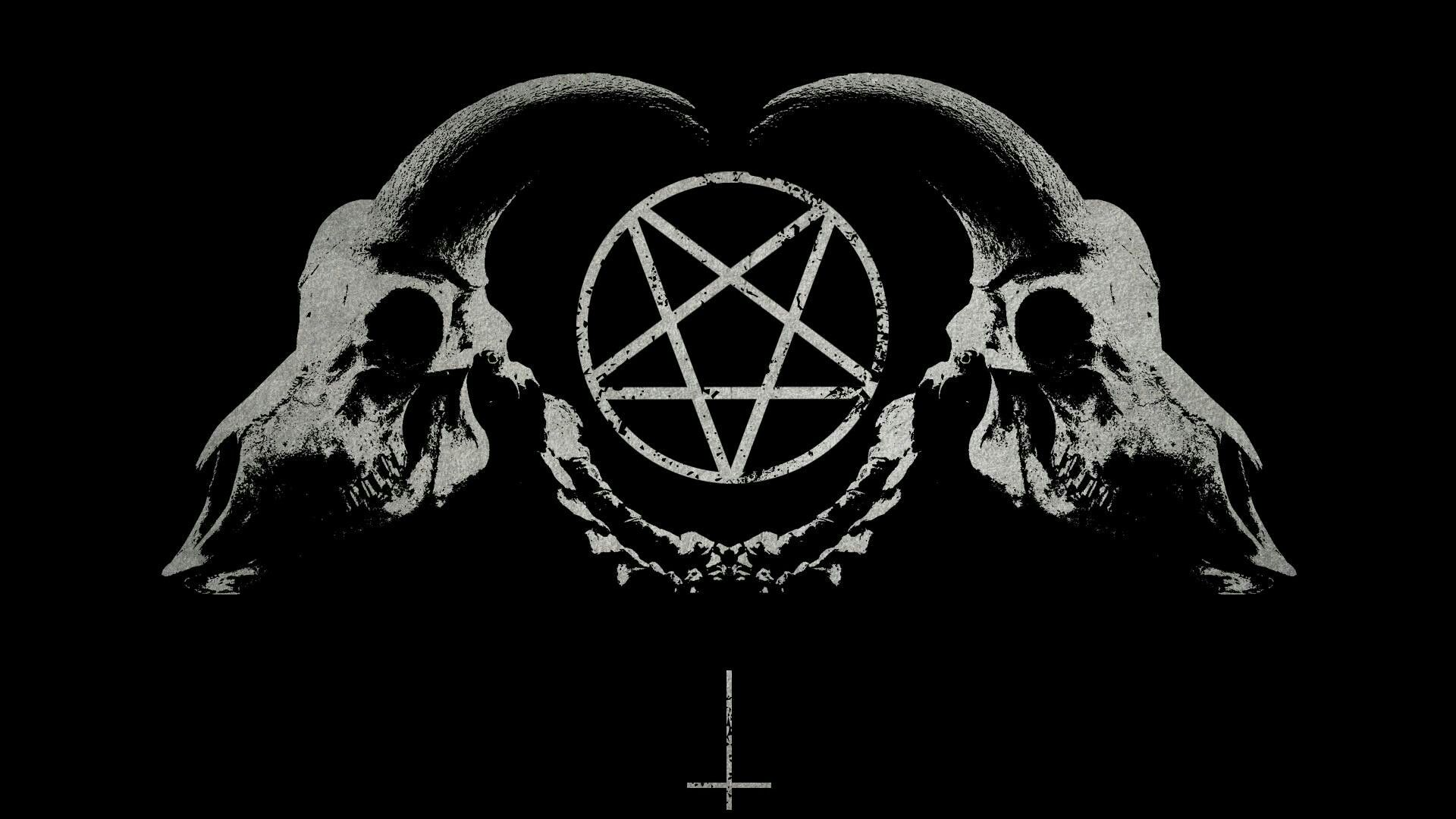 Satanic Wallpaper 1920x1080 With Images Ciemna Sztuka