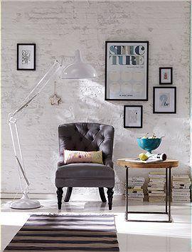 Kleiner Sessel Lieblingsstück! Dieser Edle, Graue Leinensessel Ist Super  Gemütlich Und Passt In Jede Noch So Kleine Wohnung. Er Wird Fertig .