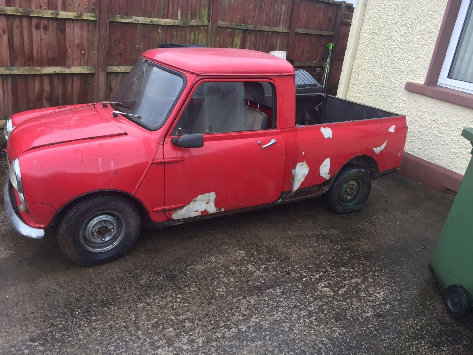 Ebay Austin Morris Mini Pickup 1963 Project Classicmini Mini
