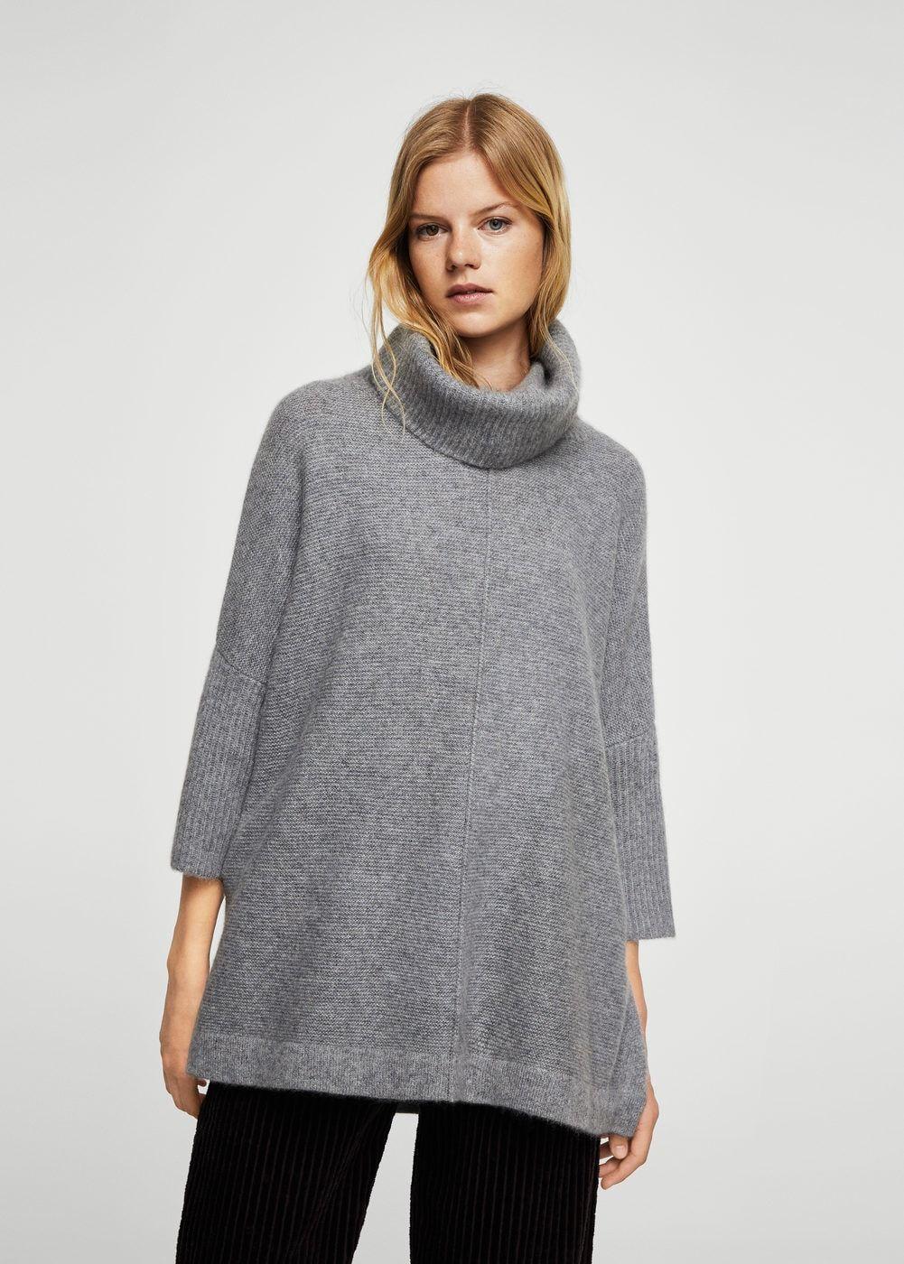 100 Cashmere Sweater Women Fashion Clothes Mango Fashion