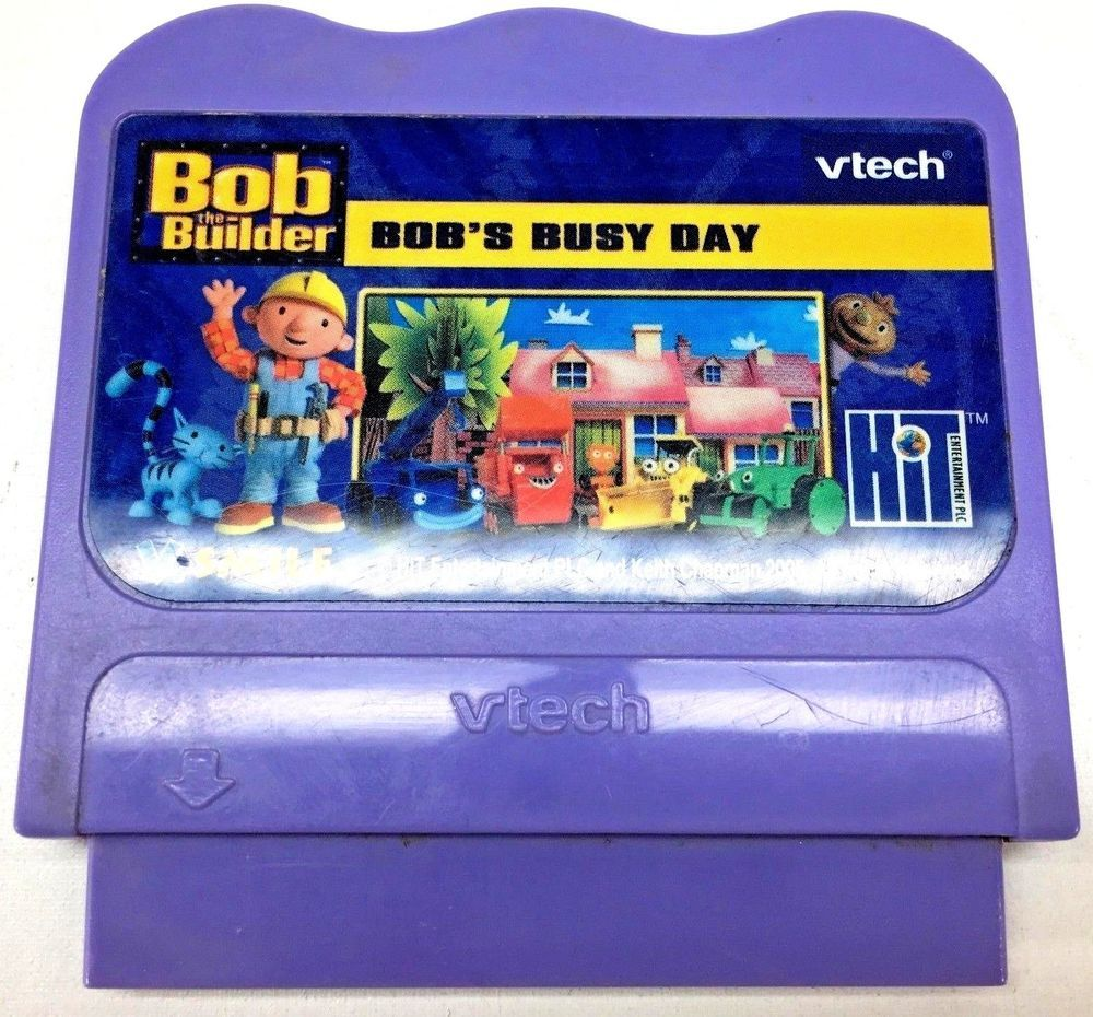 Vtech V Smile Game Bob The Builder Bob S Busy Day Smile Tv