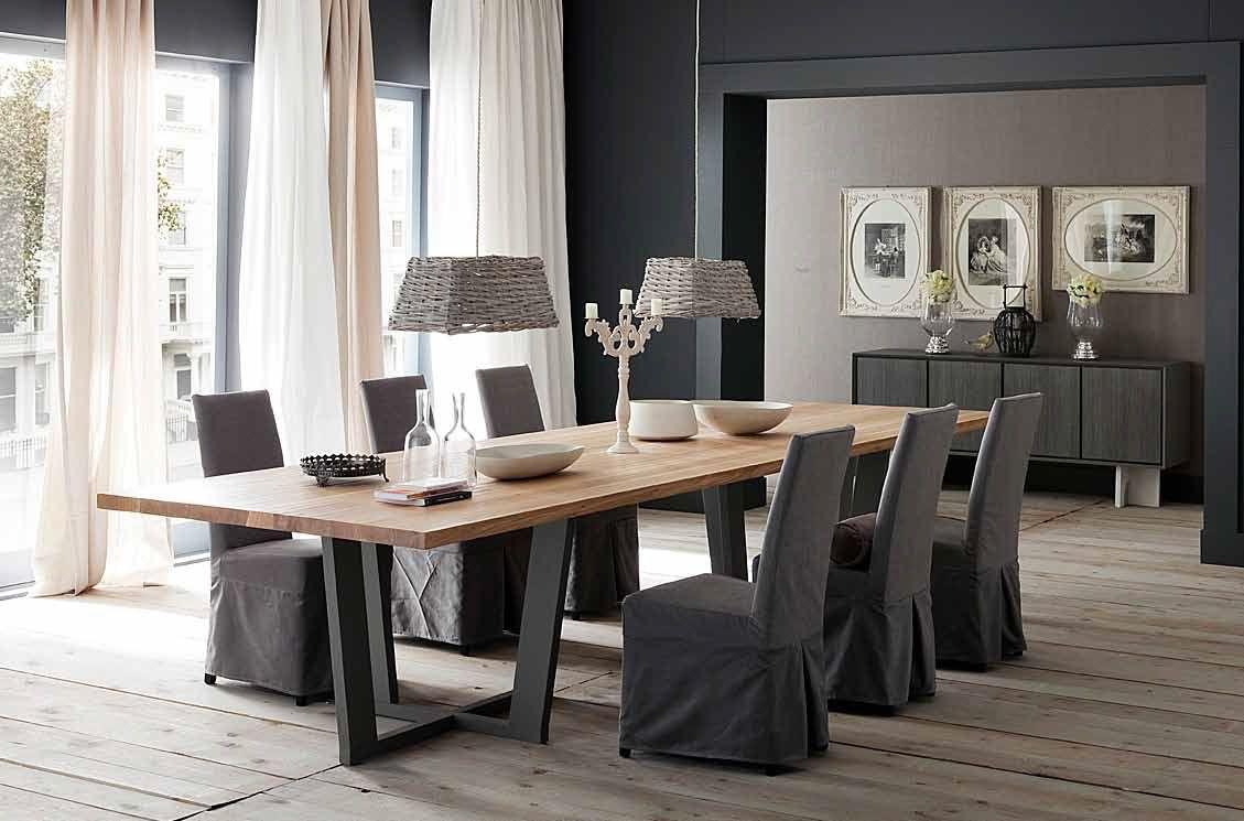 Mesa de comedor elegante comedor pinterest mesas y - Mesas de comedores ...