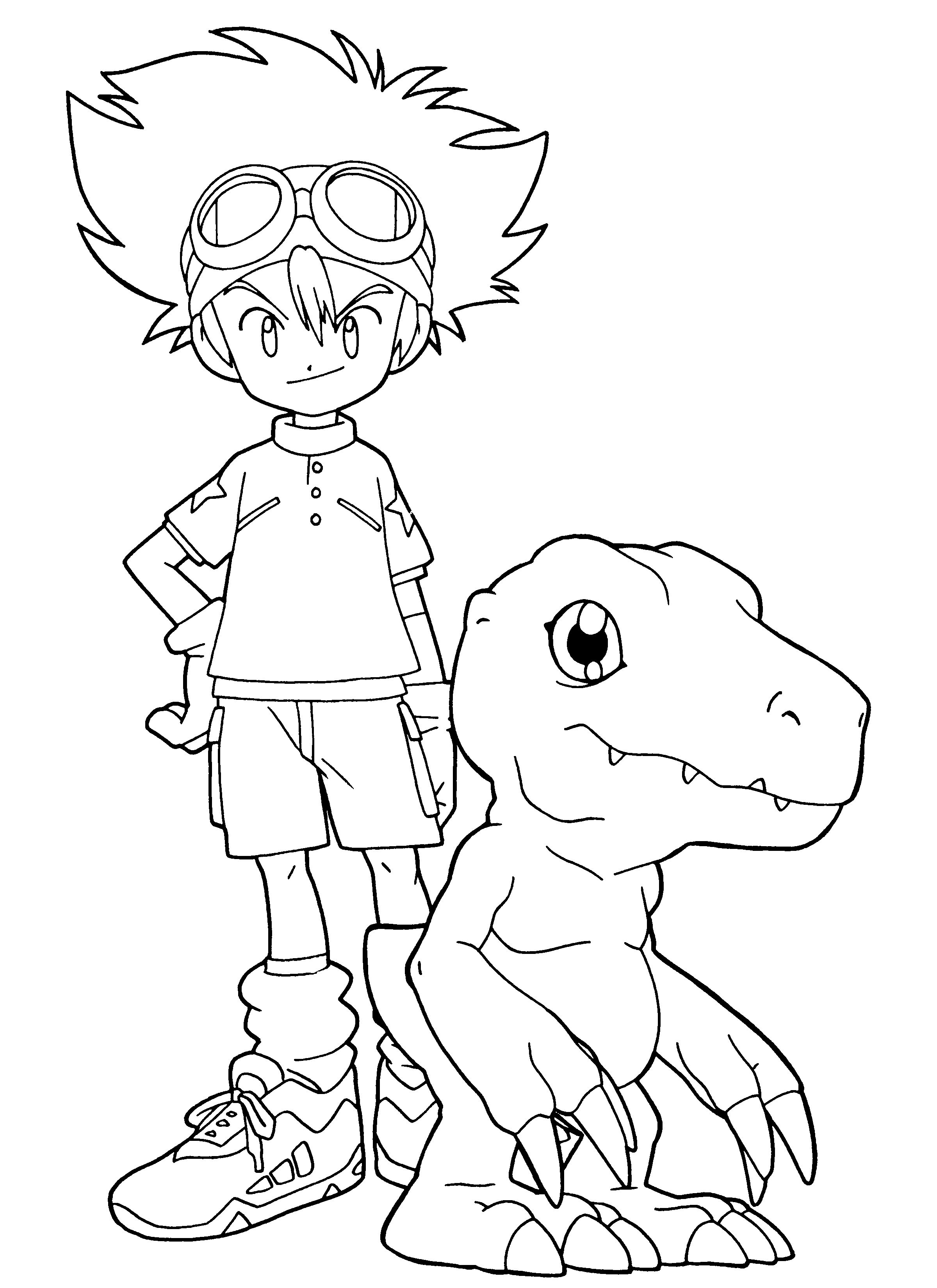 Digimon Fusion Coloring Pages To Print Cute Coloring Pages Cartoon Coloring Pages Love Coloring Pages