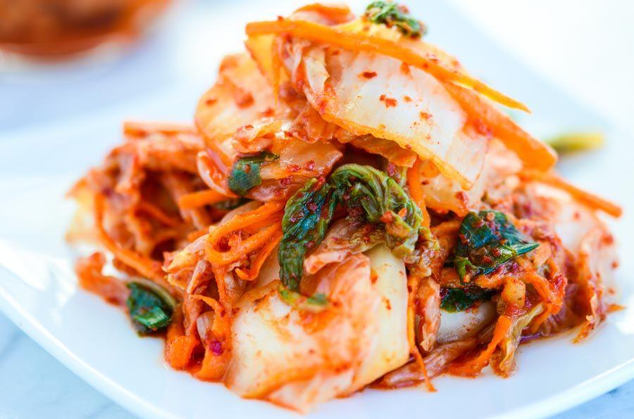 easy kimchi | recept | asian food | kimchi recipe, recipes och food