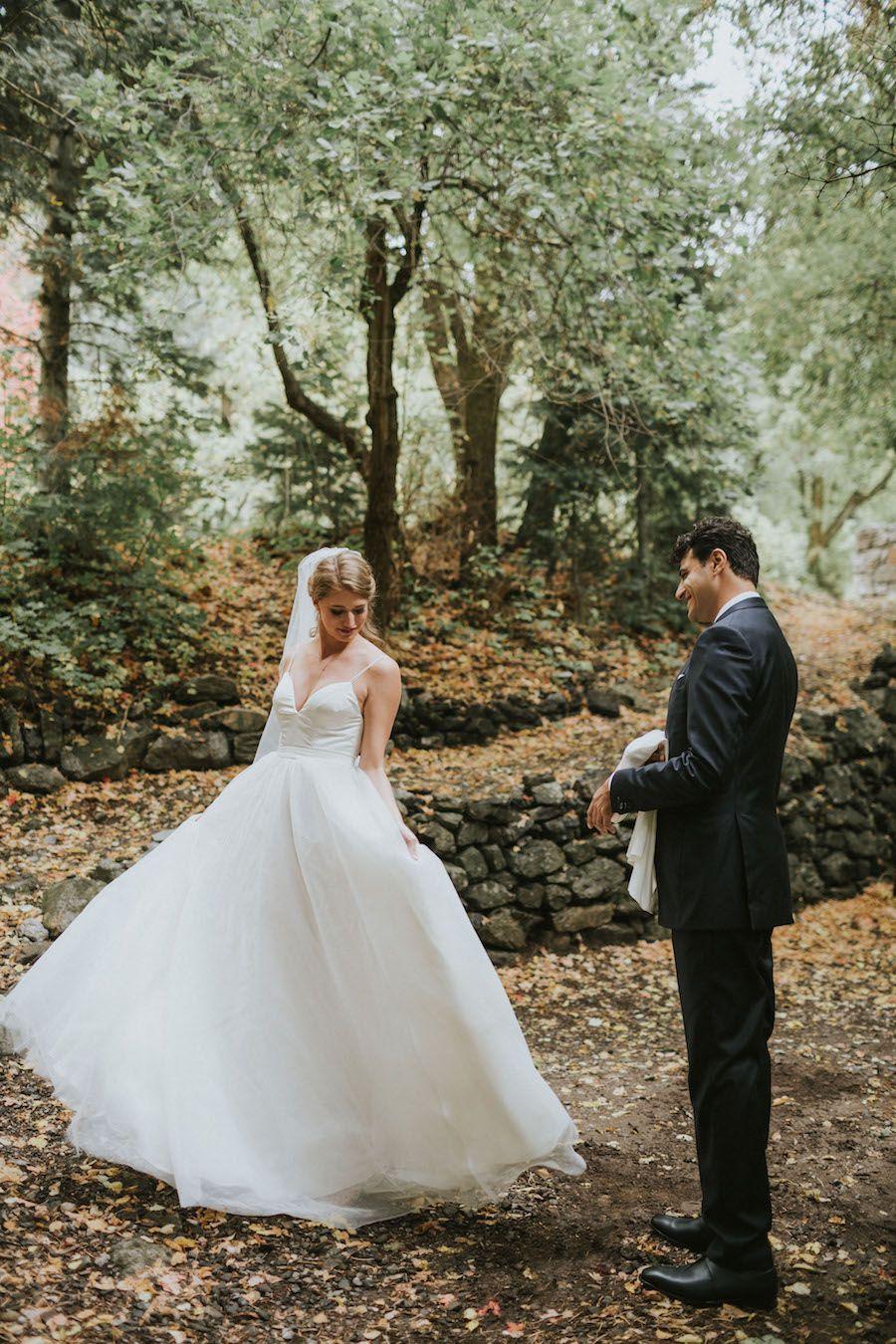 Nature wedding dress  City Meets Nature Wedding Featured on Wedding Chicks  Vivince