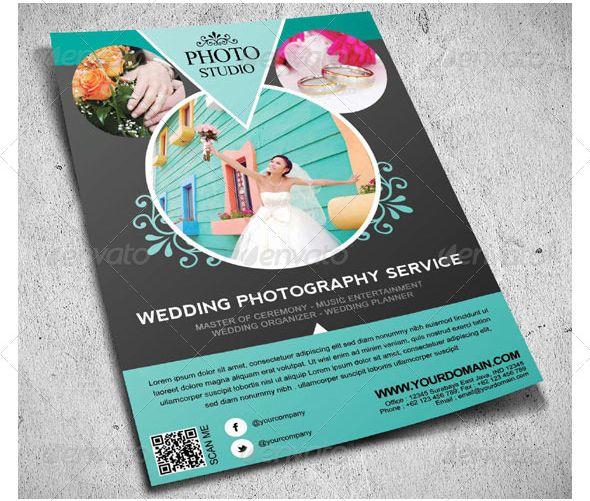 WeddingDigitalPhotographyFlyer  Style