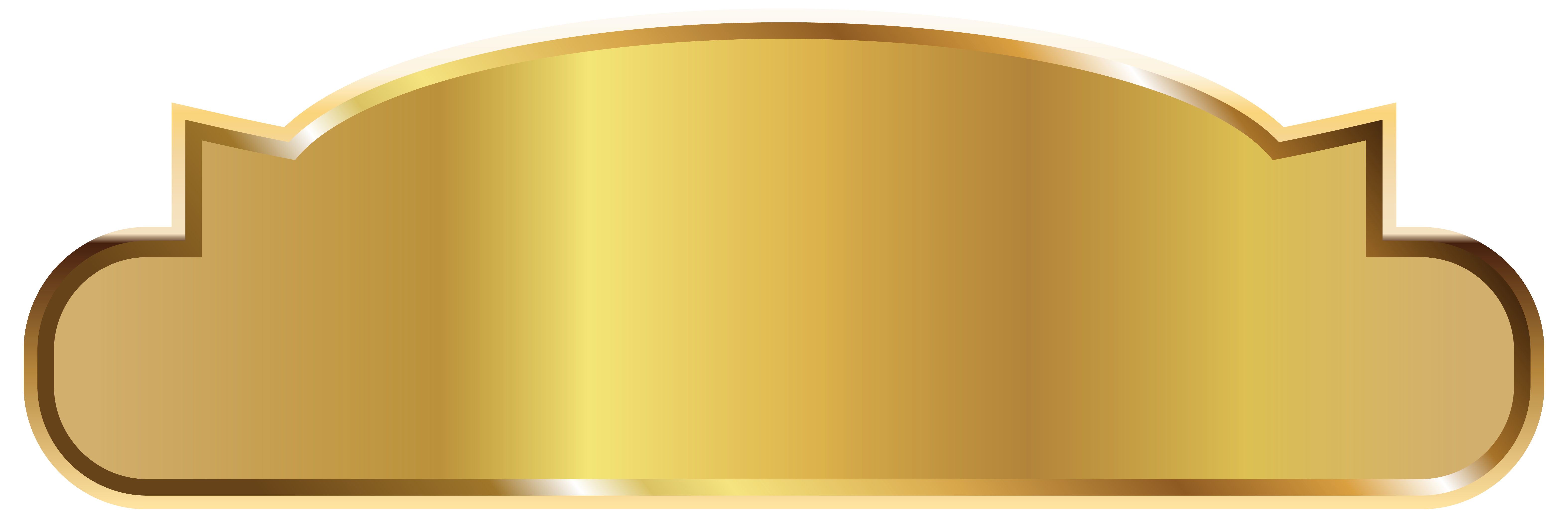 Gold Label Template Png Clipart Image Gallery Yopriceville High Quality Images And Transparent Png Free Clipart Gold Labels Label Templates Clip Art