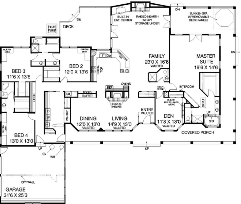 I Love This House Plan Planos Pinterest Planos