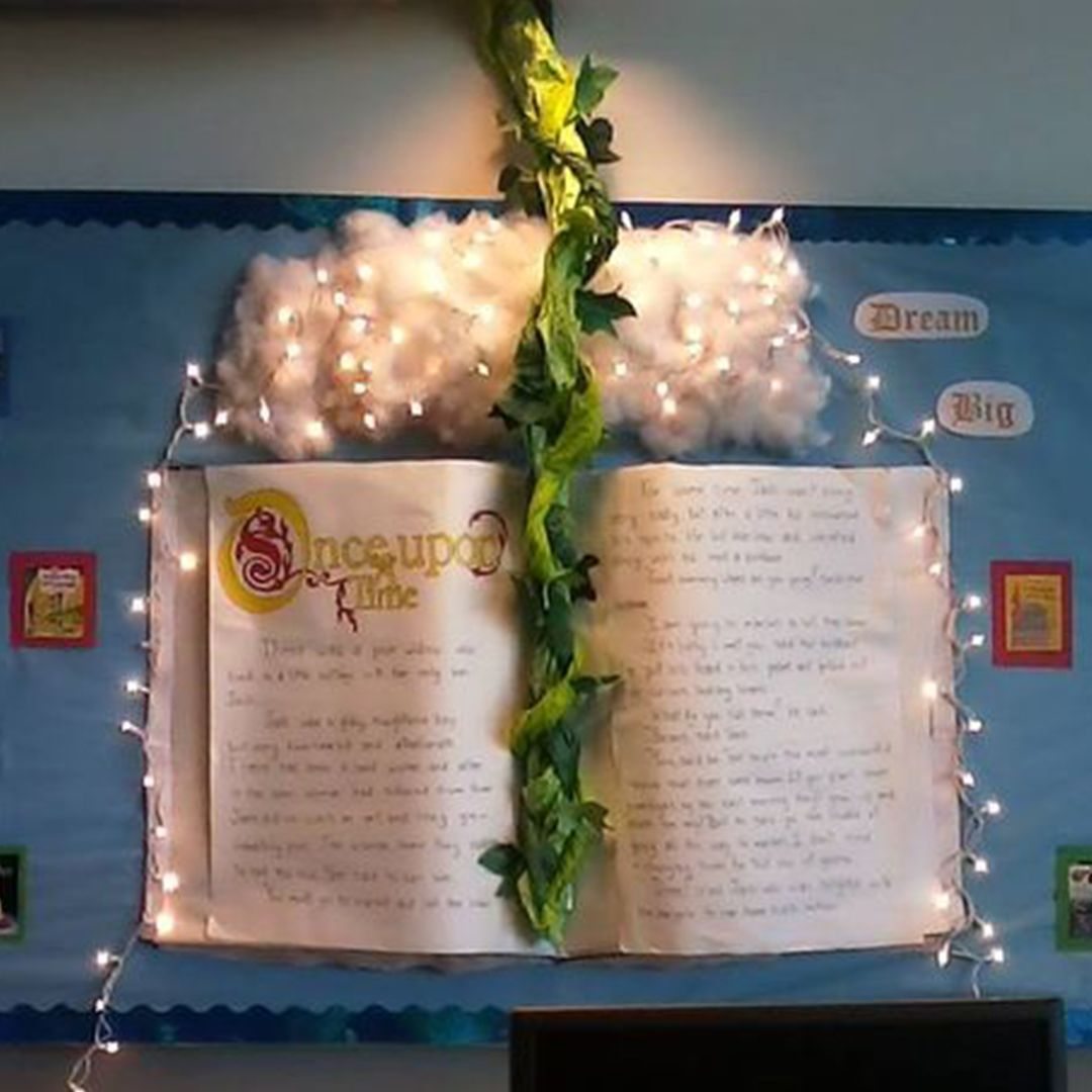 Amazing Fairy tale Classroom Display.