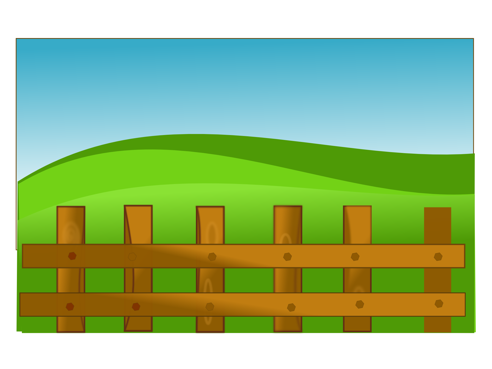 Farm Fence Clipart farmer clip art free | farm fence scallywag clipartist art svg