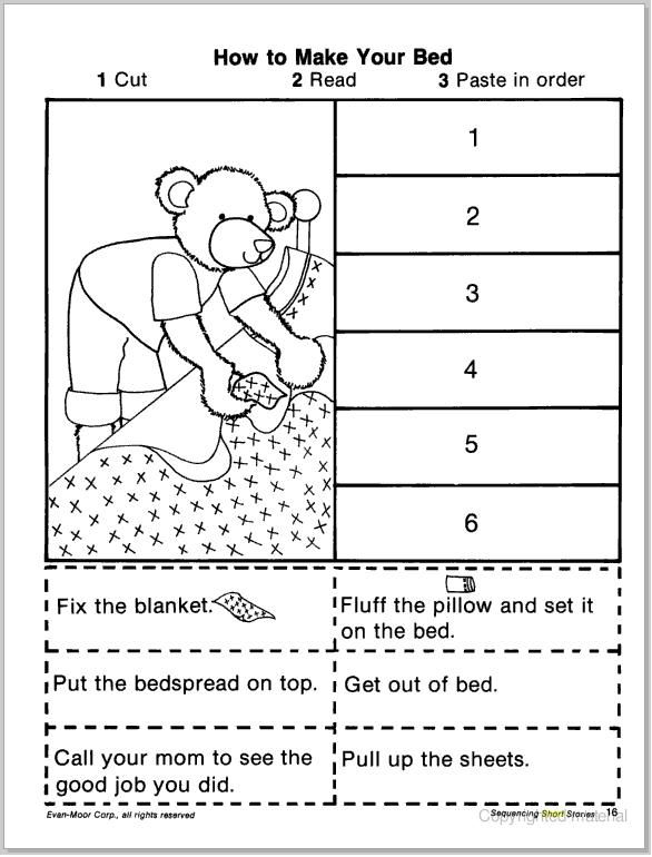 Free Story Sequencing Worksheets – Free Sequencing Worksheets