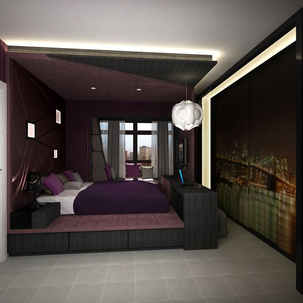 HDB 4-rooms flat on Behance