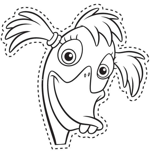 Beautiful Chicken Mask Template Frieze - Professional Resume ...