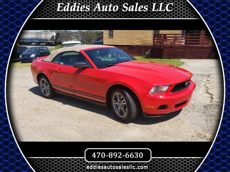 Used 2010 Ford Mustang V6 Premium Convertible for Sale in