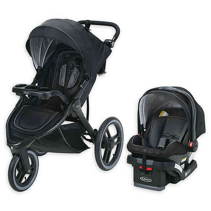 Graco® FitFold™ Jogger Travel System in Kane buybuy BABY