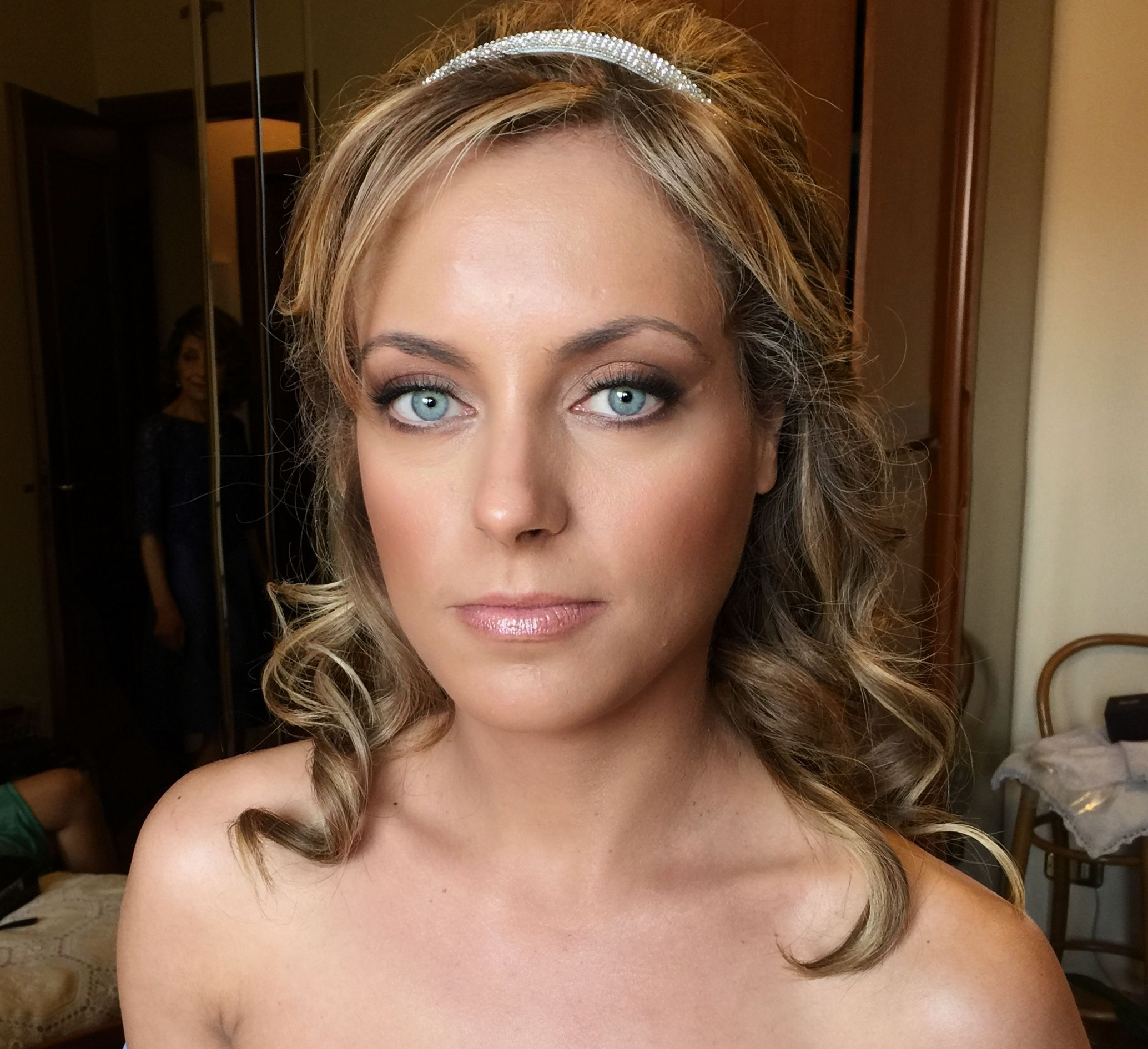 Bridal Makeup Amazing makeup for blonde with blue eyes