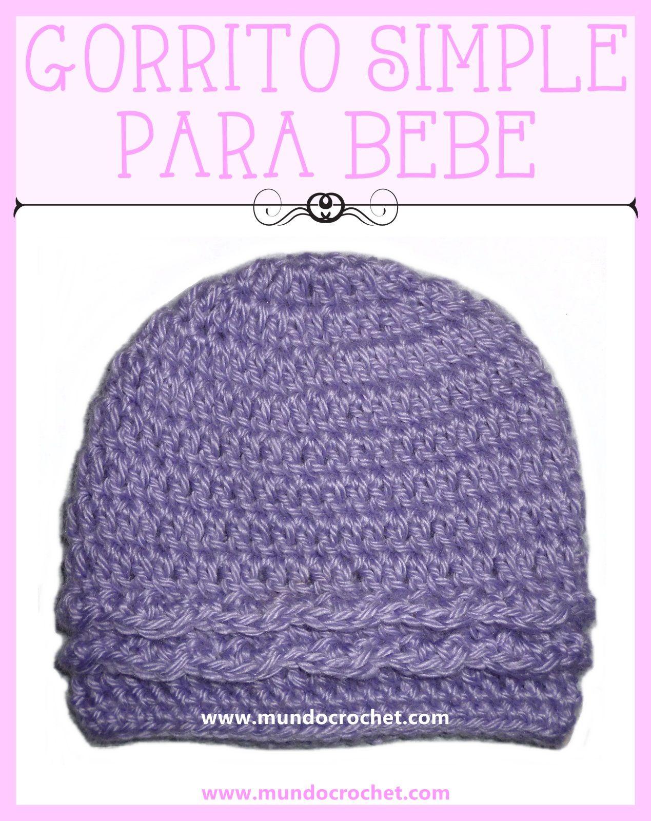 Atractivo Patrón De Tejer Sombrero Del Bebé Libre Componente - Manta ...