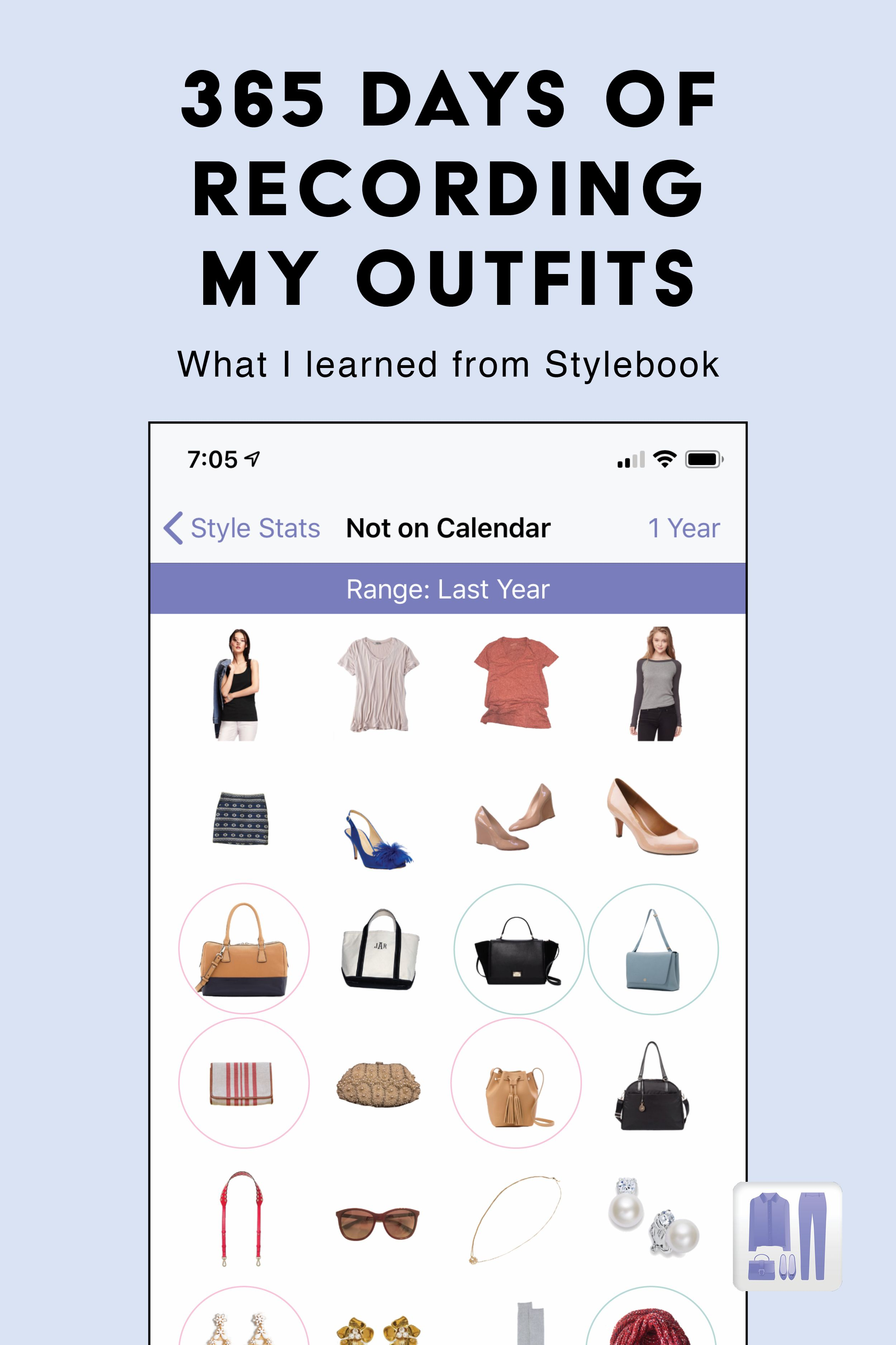 365 Days Of Stylebook What I Learned From My Outfit Calendar Via