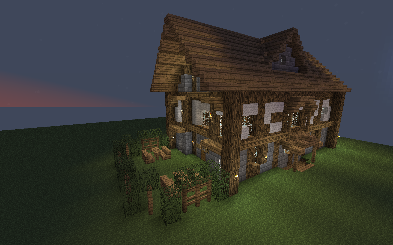 Minecraft Tavern Interior
