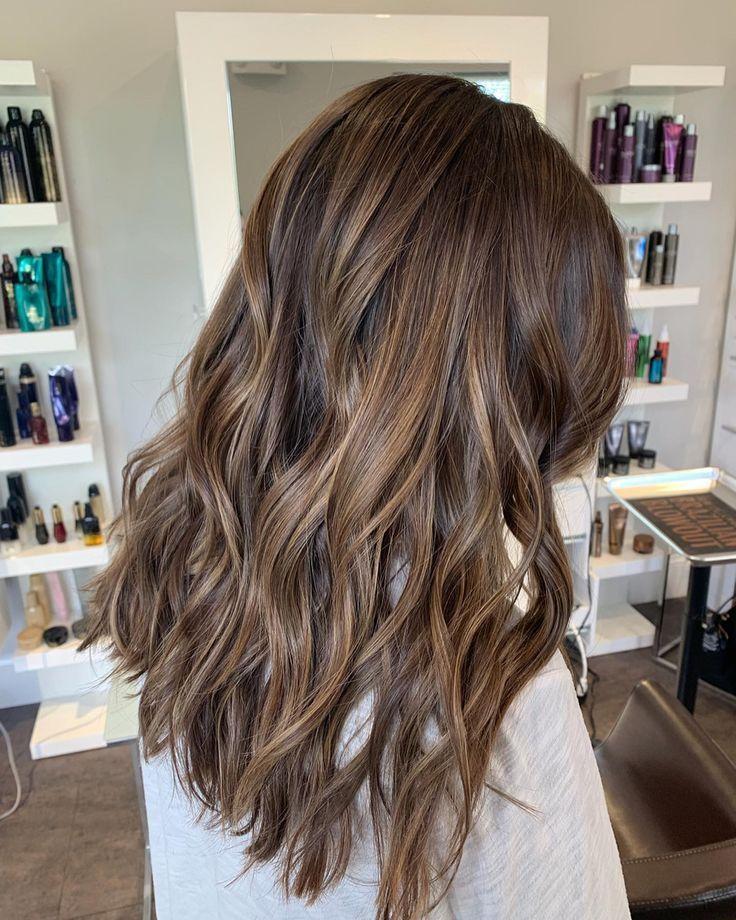 Brunette balayage – #balayage #Brünette – Cheveux et coiffures