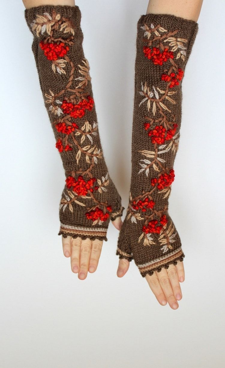 Quirky Fingerless Gloves Offer Colorfully Knitted Ways to Ease into ...